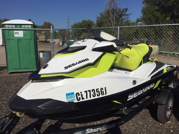 Photo 2 - 2016 SEA-DOO 1500 GTI 3-SEATERS - $4500 (LAKEWOOD)