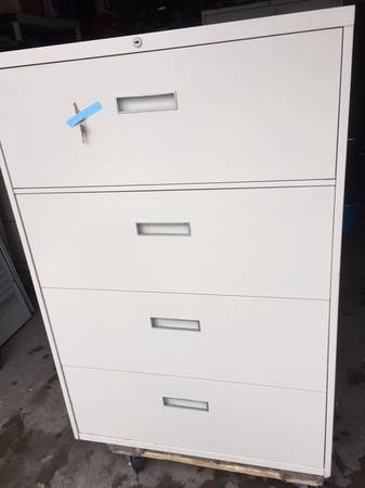Photo 4 Drawer Lateral file cabinet(s) - $100 (Lakewood)