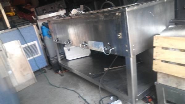 Photo 4 compartment steam table 120vols restaurant commercial - $350 (Longmont)