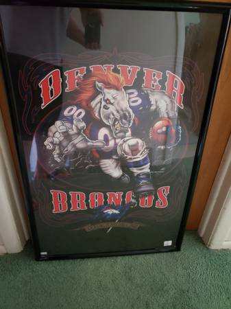 Photo Awesome Denver Broncos framed poster - $20 (Centennial)
