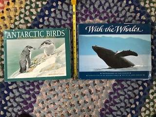 Photo Books on Birds and Whales (both for $10) - $10 (Littleton)