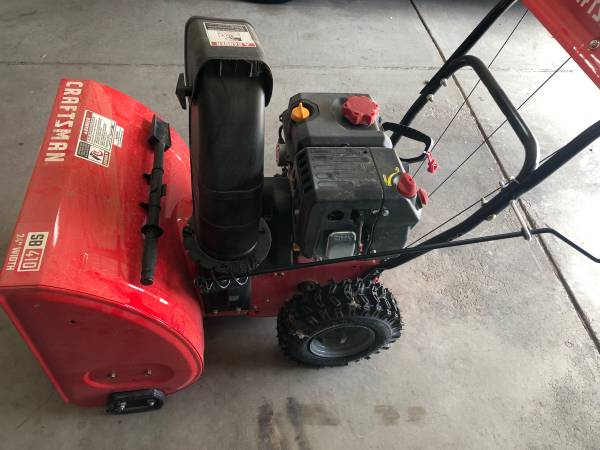 Photo Brand new 24-IN. 208CC ELECTRIC START TWO-STAGE SNOW BLOWER (SB410) - $500 (Henderson)
