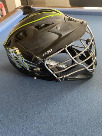 Photo Cascade CPX-R Lacrosse Helmet flat black - $80 (SE Aurora)