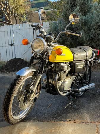 Photo Classic 1976 Honda CB 200 motorcycle - pristine with rebuilt engine - $3,195 (Baker Denver)