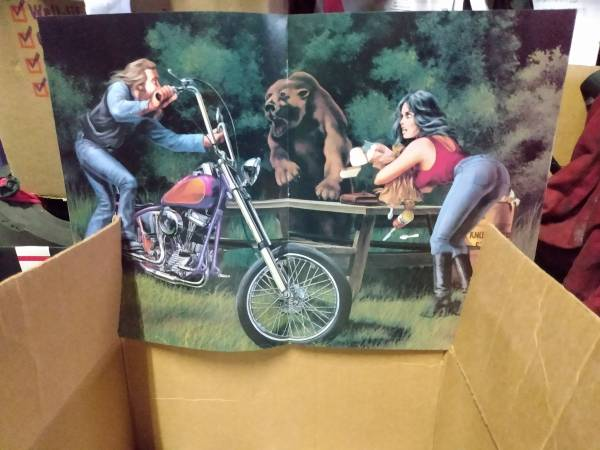 Photo Collection of easy rider centerfolds - $100 (Denver)