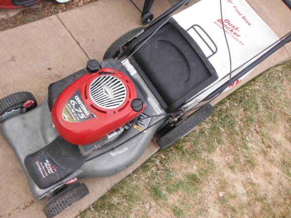Photo Craftsman 21 inch self propelled lawn mower 69 - $120 (parker)