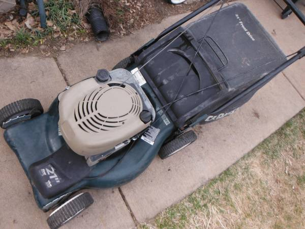 Photo Craftsman 21 inch self propelled lawn mower 59 - $120 (parker)