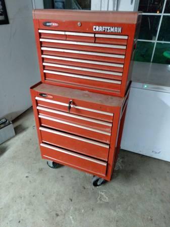 Photo Craftsman tool box - $150 (Elizabeth)