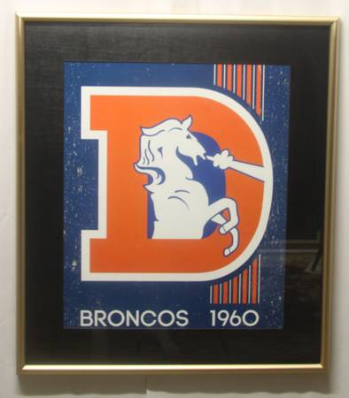Photo Denver Broncos NFL Football Framed Art Print Poster - $40 (Littleton)