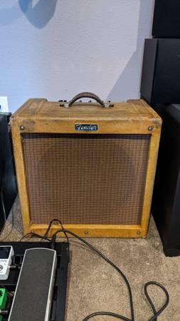 Photo Fender Blues Jr with Bill M Mods - $800 (Denver)
