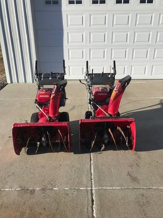 Photo Honda HS 928 Snow blowers - $1,000 (Franktown)