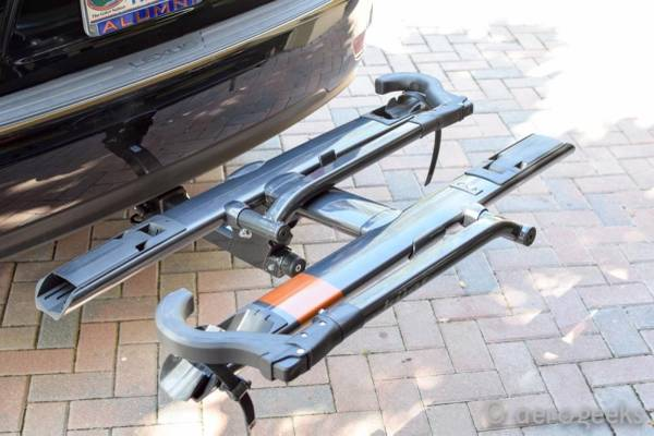 Photo Kuat Sherpa and Swing-Out Trailer Hitch Bike Rack 2 - $600 (Denver)