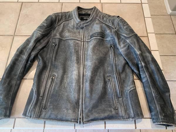 Photo Mens Harley Davidson Leather Jacket - $250 (Highlands Ranch)