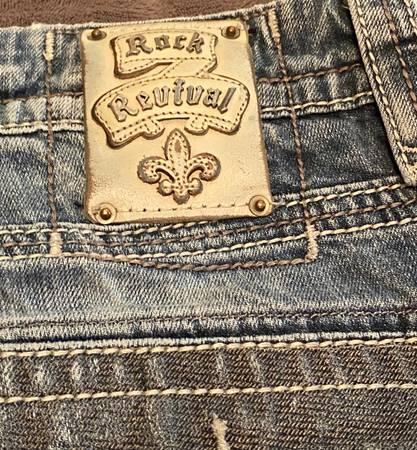 Photo Mens Rock Revival jeans - $50 (Morrison)