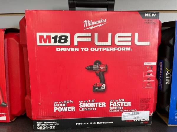 Photo Milwaukee Electric Tools 2804-22 Hammer Drill Kit - $250 (FEDERAL HEIGHTS)