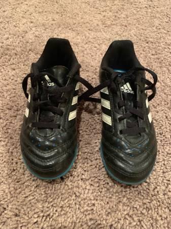 Photo Mint Kids Boys Girls Youth Adidas Soccer Cleats Turf Shoes sz. 10.5 - $10 (Lakewood)