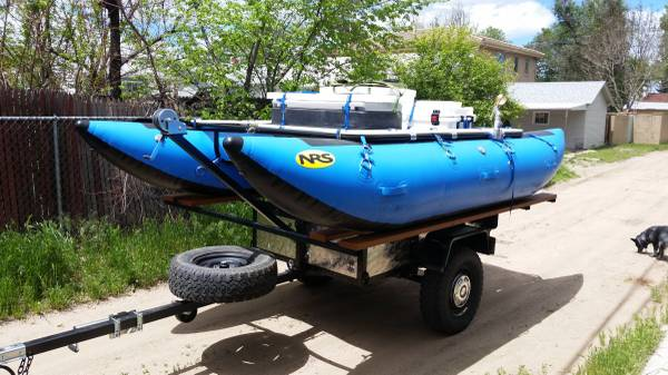 Photo NRS 1439 River Cat, Whitewater raft cataraft - $3500 (Englewood)