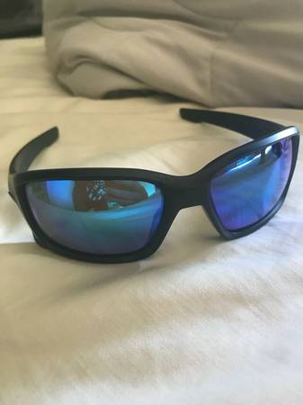 Photo Oakley Straightlink Polarized Sunglasses Custom Blacked Out - $125 (Denver)