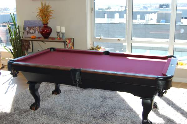 Photo POOL TABLE SUPER SALE  WHY BUY USED FOR THE PRICE OF NEW - $1,699 (Metro Denver)