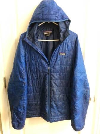Photo Patagonia Nano Puff Hoody Size Large - $80 (Lake)