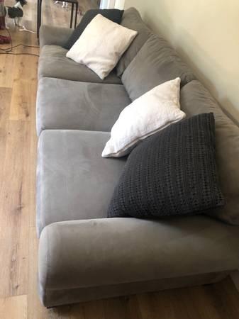 Photo Pottery Barn Turner couch set - $750 (Denver)