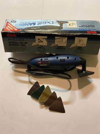 Photo Ryobi DS1000 Corner Sander - $20 (Lakewood)