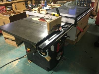 Photo Sawstop CB53230 5 hp Industrial Cabinet Saw - $3000 (Loveland)