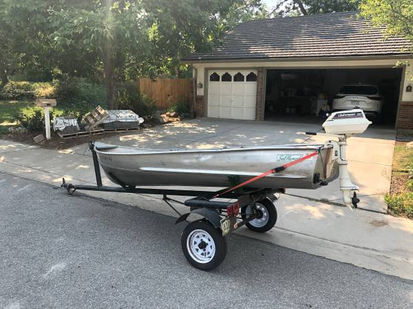 Photo Sea Nymph with motor and trailer - $950 (Englewood)