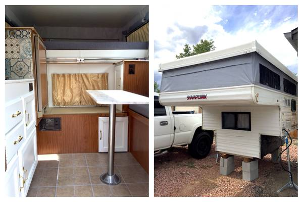 Skamper Pop Up Truck Camper 3300 Rv Rvs For Sale Denver