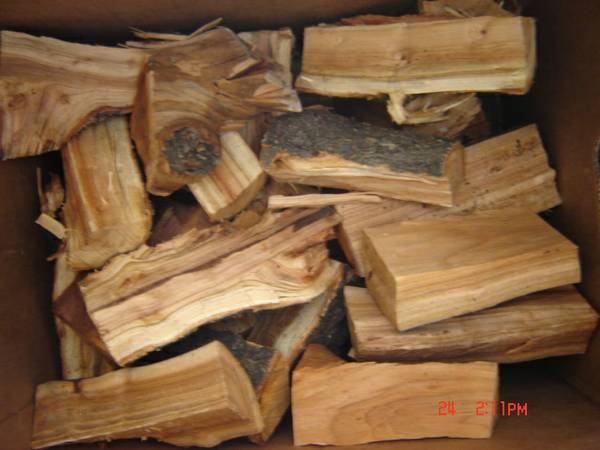 Photo Smoking Firewood Pecan Hickory Mesquite Fruit Wood Cooking BBQ Pig - $15 (Denver - LoDo)