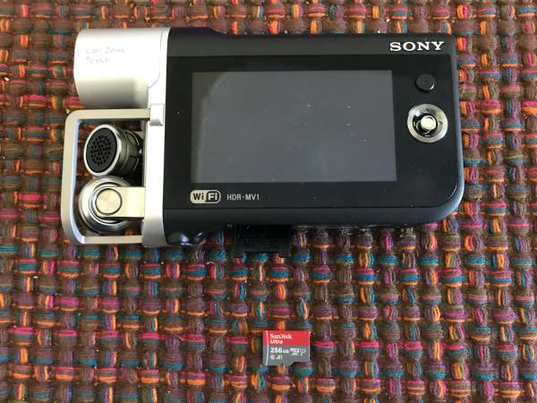 Photo Sony HDR-MV1 - $400 (Denver)