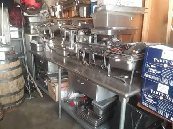 Photo Stainless Steel Prep  Pans w. Lids  Commercial Heavy Duty Slicers - $2,000 (Denver)