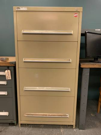 Photo Stanley Vidmar 4 Drawer Tool and Hardware Cabinet - $499 (Broomfield)