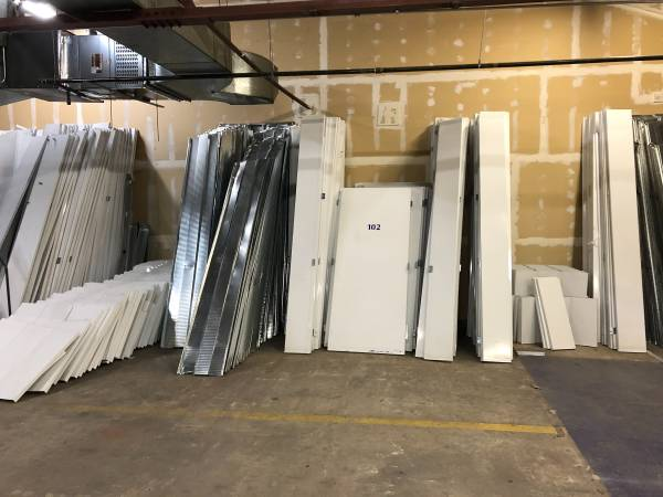 Photo Steel storage containers - partitions, doors, etc (Downtown Denver)