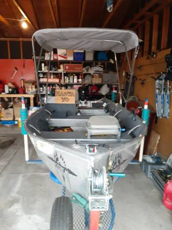 Photo Stellar outfit, 14 ft. fishing boat - $4000 (Littleton)