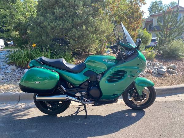 Photo Triumph Trophy 1200 Motorcycle - $2,800 (parker)
