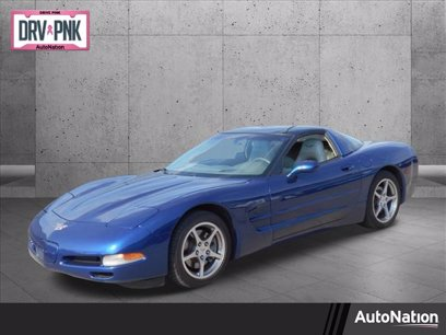 Photo Used 2004 Chevrolet Corvette Coupe for sale