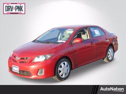 Photo Used 2012 Toyota Corolla LE for sale