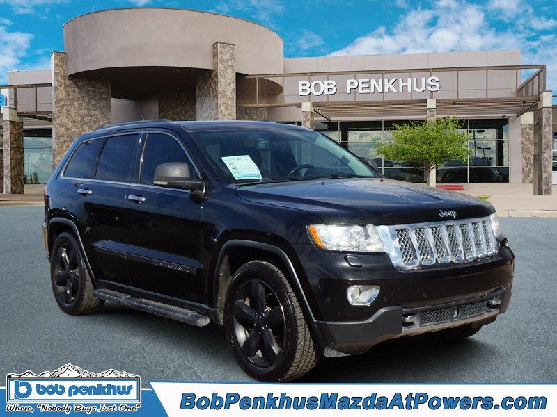 Photo Used 2013 Jeep Grand Cherokee Overland Summit for sale