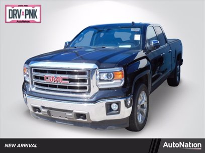 Photo Used 2014 GMC Sierra 1500 4x4 Double Cab SLT for sale
