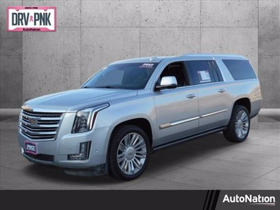 Photo Used 2017 Cadillac Escalade ESV 4WD Platinum for sale