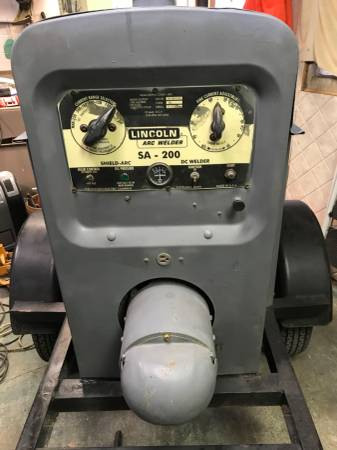 Photo Welder SA-200 Lincoln welder - $4500 (Pueblo)