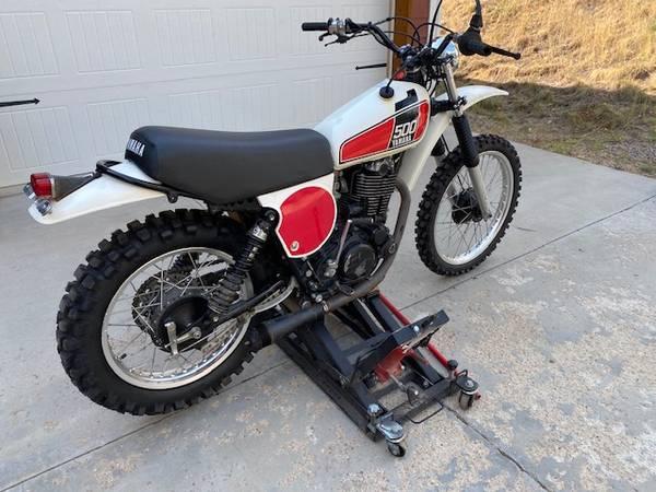 Photo Yamaha TT500 , Great condition Vintage Motorcycle, Dirt bike - $3,800 (Nederland  Boulder)