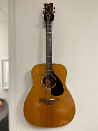 Photo Yamaha Vintage Acoustic Guitar Fg-180 - $500 (Aurora)