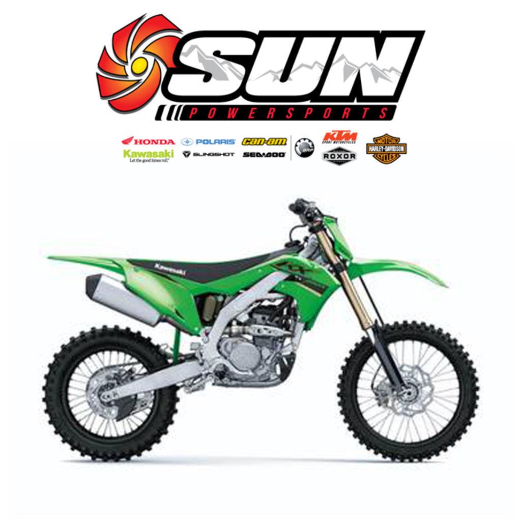 Photo 2022 Kawasaki Dirt Bike Motorcycle