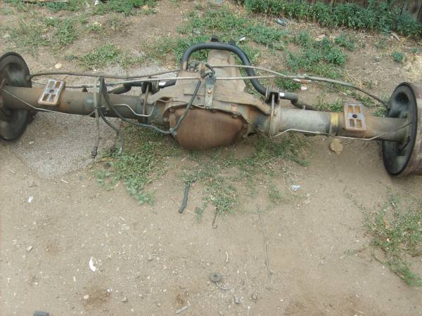 Photo ford f350 dually rear axle (denver)