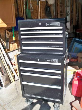 Photo tool sale Craftsman tool box milwauke 7 14in skillsaw (AURORA)