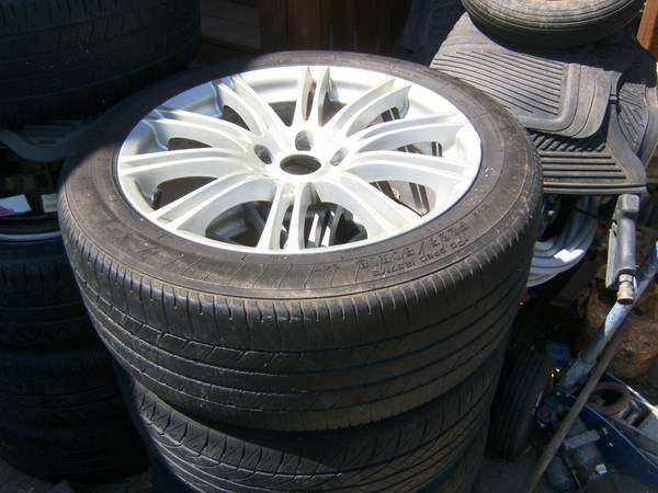 Photo 18 INCH WHEELS AND TIRES(2 SETS) - $150 (EASTDM)
