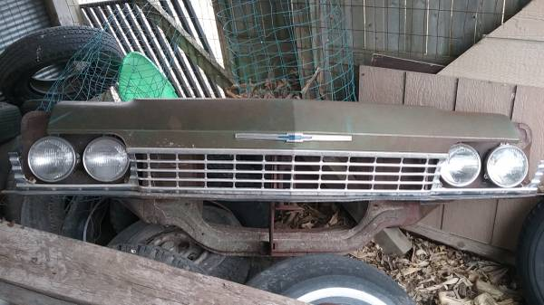 Photo 1968 Impala Grill  Header  Radiator Support - $400 (Pella,Iowa)