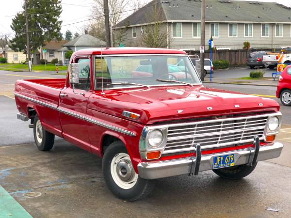 Photo 1969 Ford Truck - $4600 (Des Moines)